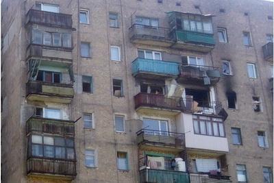 В Макеевке в 9-этажном доме произошел взрыв