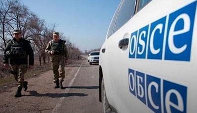 Боевики «ДНР» обстреляли миссию ОБСЕ