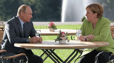 Путин и Меркель обсудили Украину и строительство «Северного потока-2»
