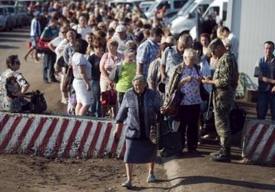 Что является самым страшным для людей при пересечении линии разграничения на Донбассе