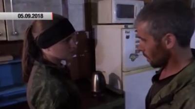 «Я хочу отомстить»: вдова Захарченко сделала заявление на передовой. ВИДЕО