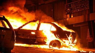 В Польше сгорело авто активиста украинской общины
