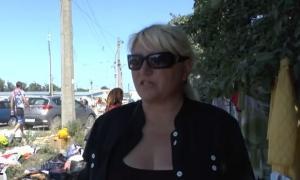 """""""Мы хотим есть"""": доведенные до нищеты жители Луганска вынесли на блошиный рынок последний скарб - кадры"""