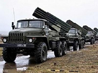 Боевиков «ЛНР» уличили в размещении РСЗО за линиями отвода