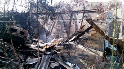 Новоазовский район попал под осбтрел: повреждены три жилых дома