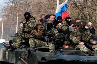 Жители Горловки говорят о большом количестве российских наемников в городе