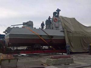 Украина наполняет Азовское море военными катерами