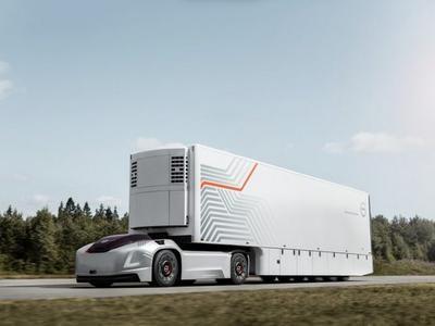 Volvo представила робогрузовик без кабины (ВИДЕО)