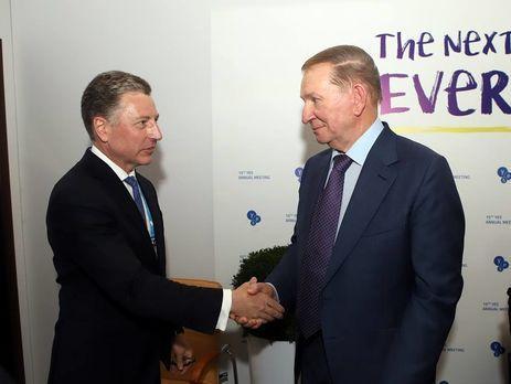 Кучма и Волкер подтвердили безальтернативность Минских договоренностей – Олифер