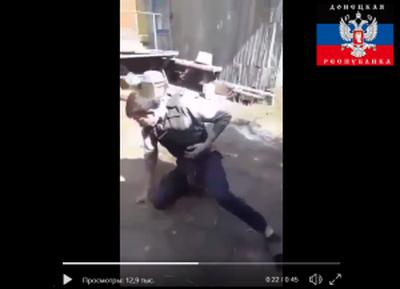 """Российский наемник """"ДНР"""" выстрелил себе в живот, но бронежилет не спас"""