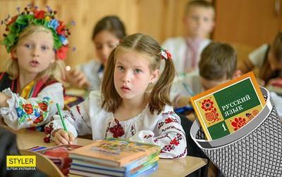 Мариупольцы не согласны с уменьшением часов русского языка в школах. ВИДЕО