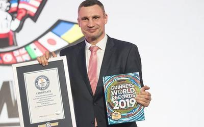 Братьев Кличко занесли в Книгу рекордов Гиннесса