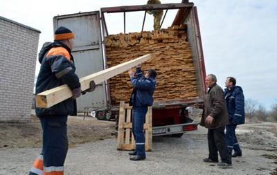 Из «ЛНР» в Россию вывозятся стройматериалы