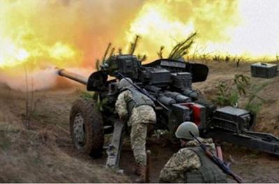 Крымское под обстрелом, поселок обесточен