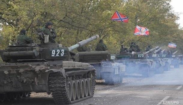 СЦКК: На Донбассе зафиксировано 180 танков боевиков