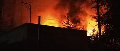 Донецк объят огнем. В городе сильнейший пожар (Видео)