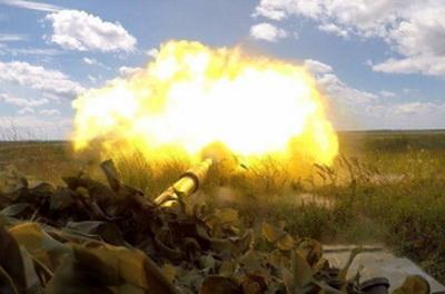 """Разозленный Томосом оккупант обрушил на ВСУ тяжелую артиллерию и был """"наказан"""""""