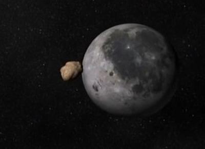 На Землю летит метеорит, который задел Луну и может уничтожить все живое. ВИДЕО