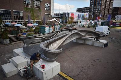В Нидерландах изготовили первый в мире 3D-печатный мост (ВИДЕО)