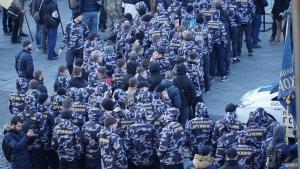 Бунт в Киеве: улицы заполнили участники АТО и националисты