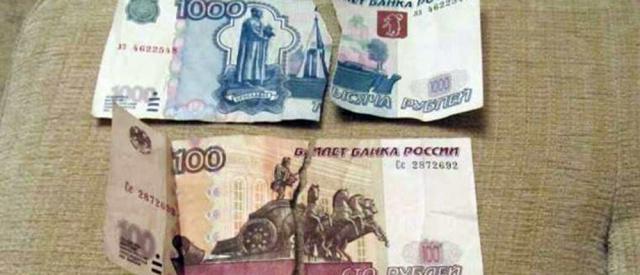 Ни рубль, ни гривну: В «ДНР» нельзя обменять ветхие купюры