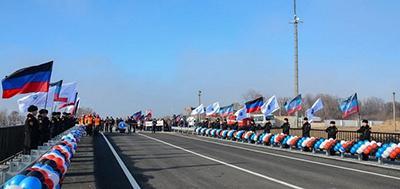 Еще танкам ВСУ надо пройти: В «ДНР» восстановили разрушенный мост