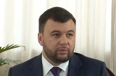 Уже в открытую сказал: Пушилина спросили о воссоединении «Л / ДНР» с Россией
