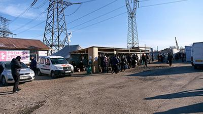 В Донецкой области началась реконструкция КПВВ «Майорск». Что изменится?