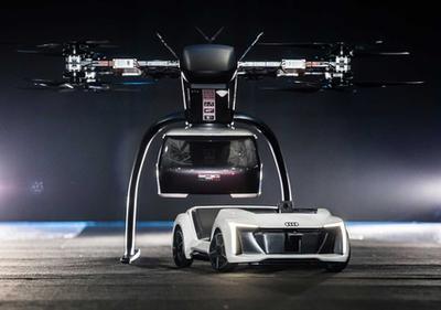 Audi и Airbus показали прототип беспилотного летающего такси (ВИДЕО)