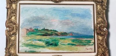 В Вене с аукциона похитили картину Ренуара