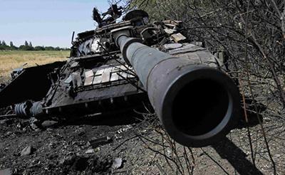 Небо над Донбассом стало черным, техника дала сбой