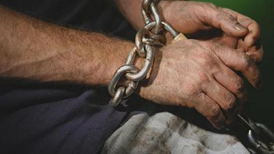 Трудовое рабство в ОРЛО: хозяин заставлял работать и сажал на цепь
