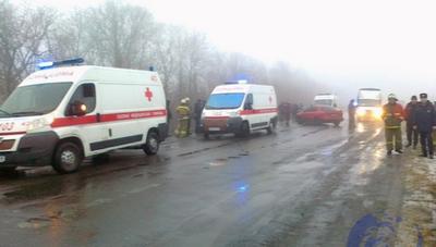 В ОРЛО произошла масштабная авария — 9 пострадавших