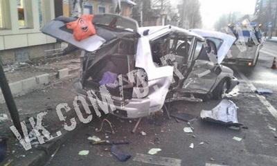 Говорят, вояка был за рулем: В Донецке произошло жесткое ДТП