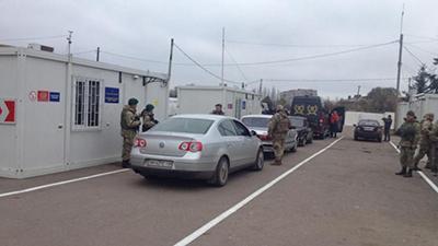 При пересечении  КПВВ «Майорск»  возможны осложнения