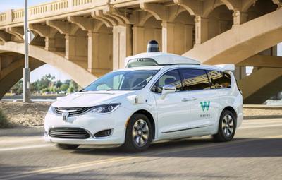В США запустили первый в мире сервис беспилотных такси