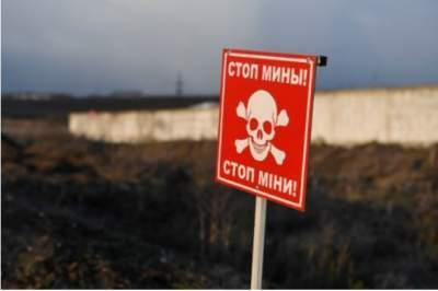С начала войны на Донбассе на минах подорвались 833 гражданских