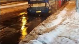 В Донецке городской транспорт «разбирается на ходу»
