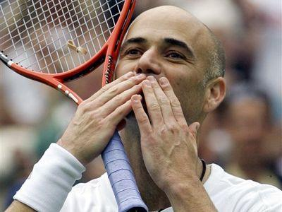 Курникова и Агасси возвращаются в большой теннис