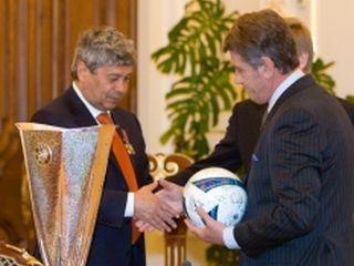 Ющенко наградил «Шахтер»
