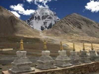Каменные зеркала горы Кайлас охраняют путь в Шамбалу? (ФОТО)
