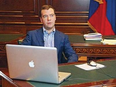 "Дмитрий Медведев заводит блог в ""Живом журнале"""