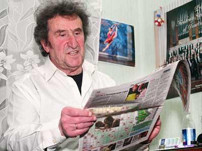 Отвезу вашу газету домой: покажу жене, что Сашка Городницкий рассказывает обо мне дончанам!