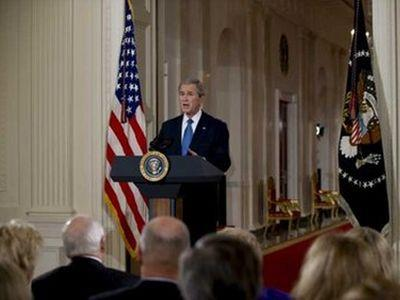 В резиденции Буша собралось несколько десятков приглашенных. Фото ЕРА.