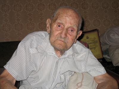 Ушел старейший  житель Украины
