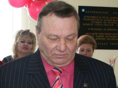 Городской голова Константиновки - Юрий Роженко.