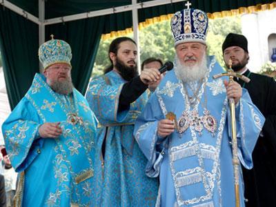 Патриарх Кирилл благословил шахтеров и назвал Донбасс своей главной опорой