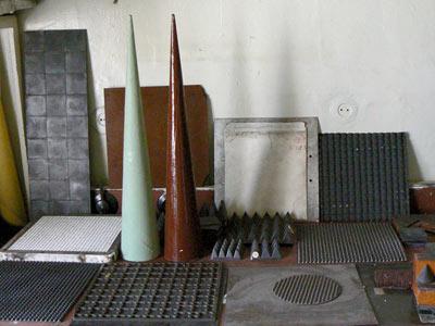 Ассортимент радиопоглощающих покрытий очень разнообразен.