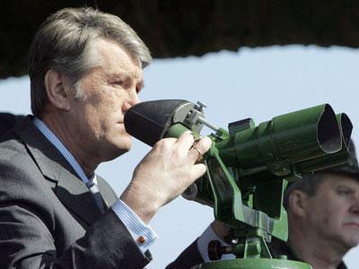 Виктор Ющенко: «Эх, знать бы, что там,  за поствыборным горизонтом...» Фото www.president.gov.ua.