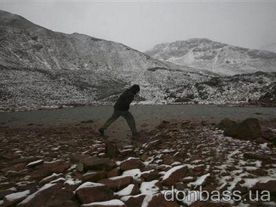 Ледник Чакалтайя через год останется без снега (ФОТО)